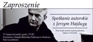 Jerzy Hajduga w Wieliczce!