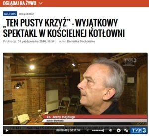 Ten pusty krzyż - Jerzy Hajduga