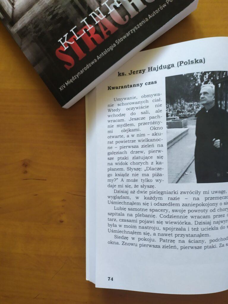 Klinika Strachu – antologia
